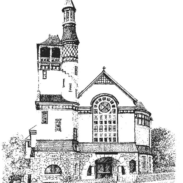 church sketch